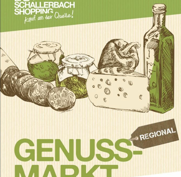 Regionaler Genussmarkt Bad Schallerbach 2. Mai 2020